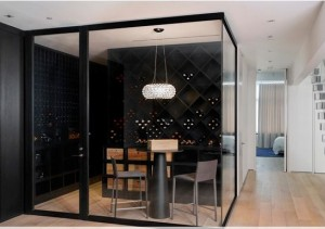 Wine room contemporary