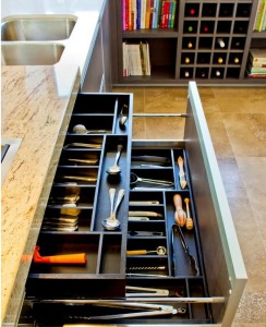 Easy glide full depth extensions also some can have double stack interior drawer to keep organized.
